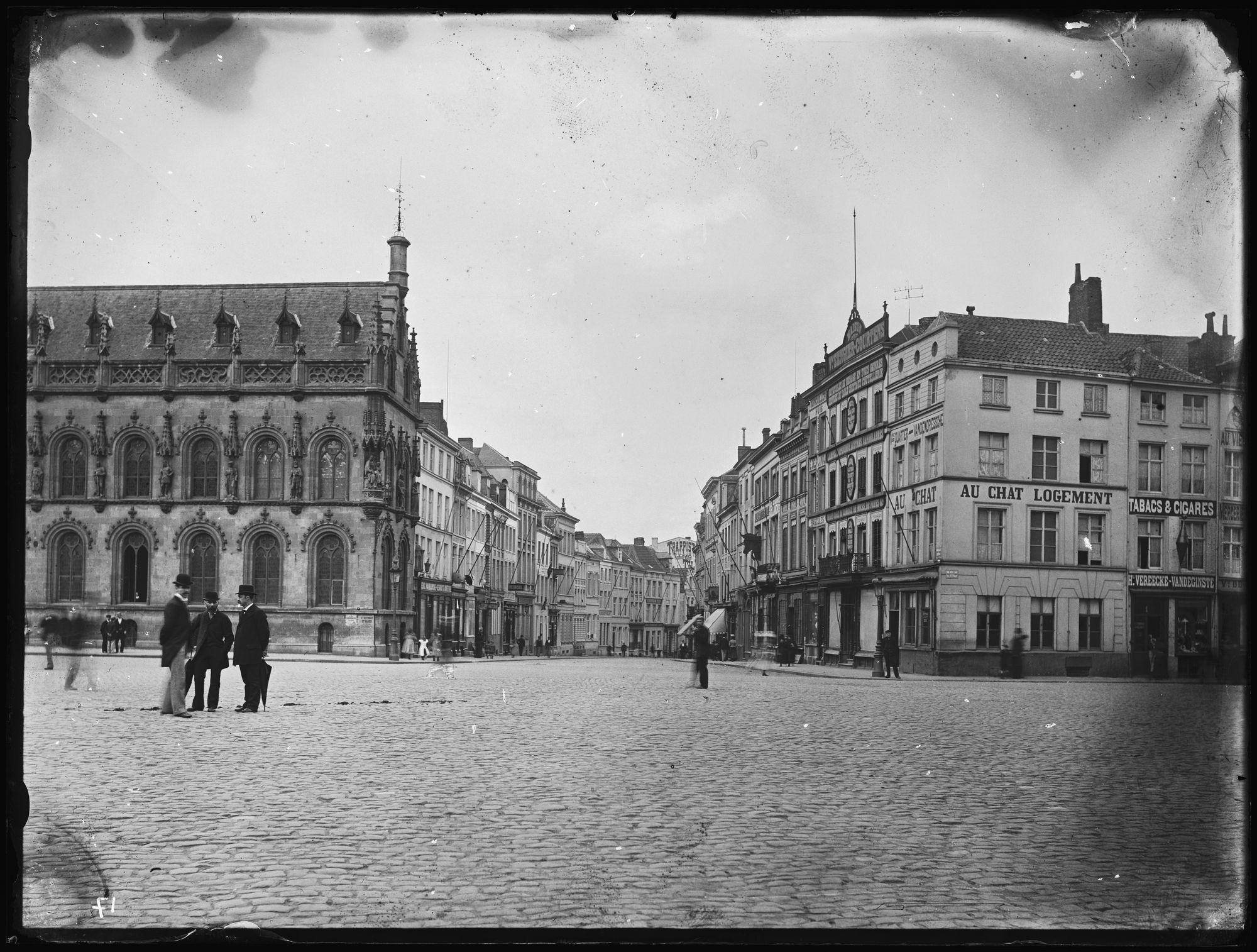 Grote Markt circa 1900