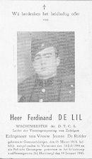 Ferdinand De Lil