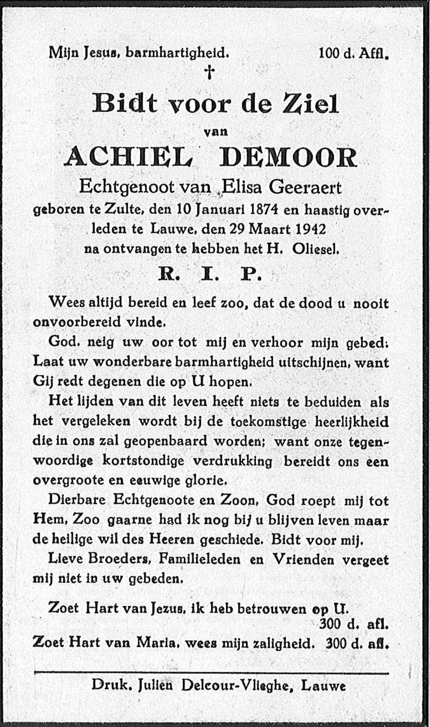 Achiel Demoor