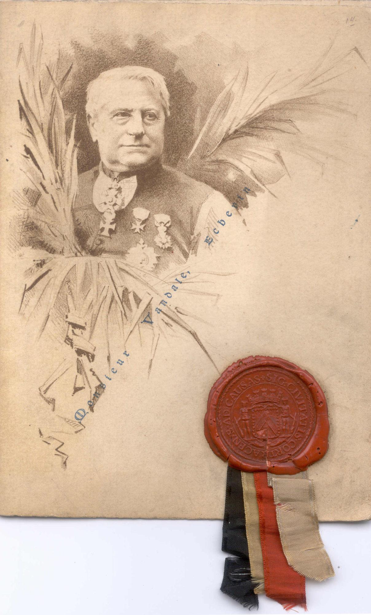 De Haernemonument inhuldiging 1895 1/4