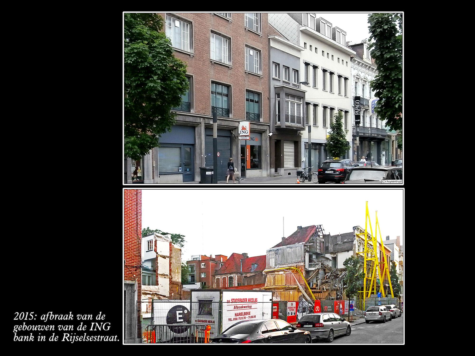 Rijselsestraat 2012 en 2015