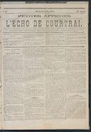 L'echo De Courtrai 1875-05-09 p1