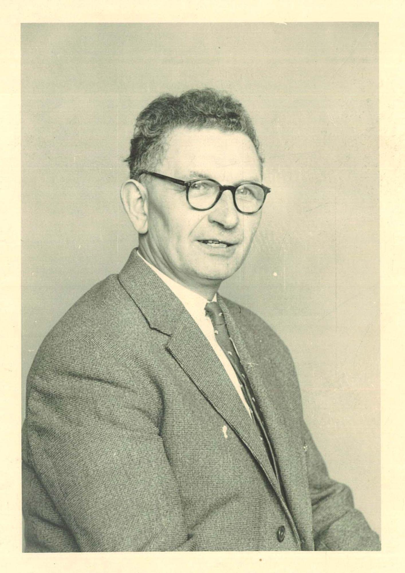 Broederschool Overleie portret Maurice Devolder