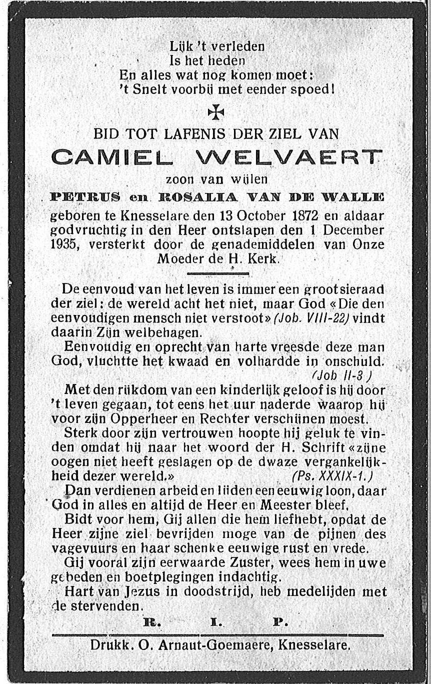 Camiel Welvaert