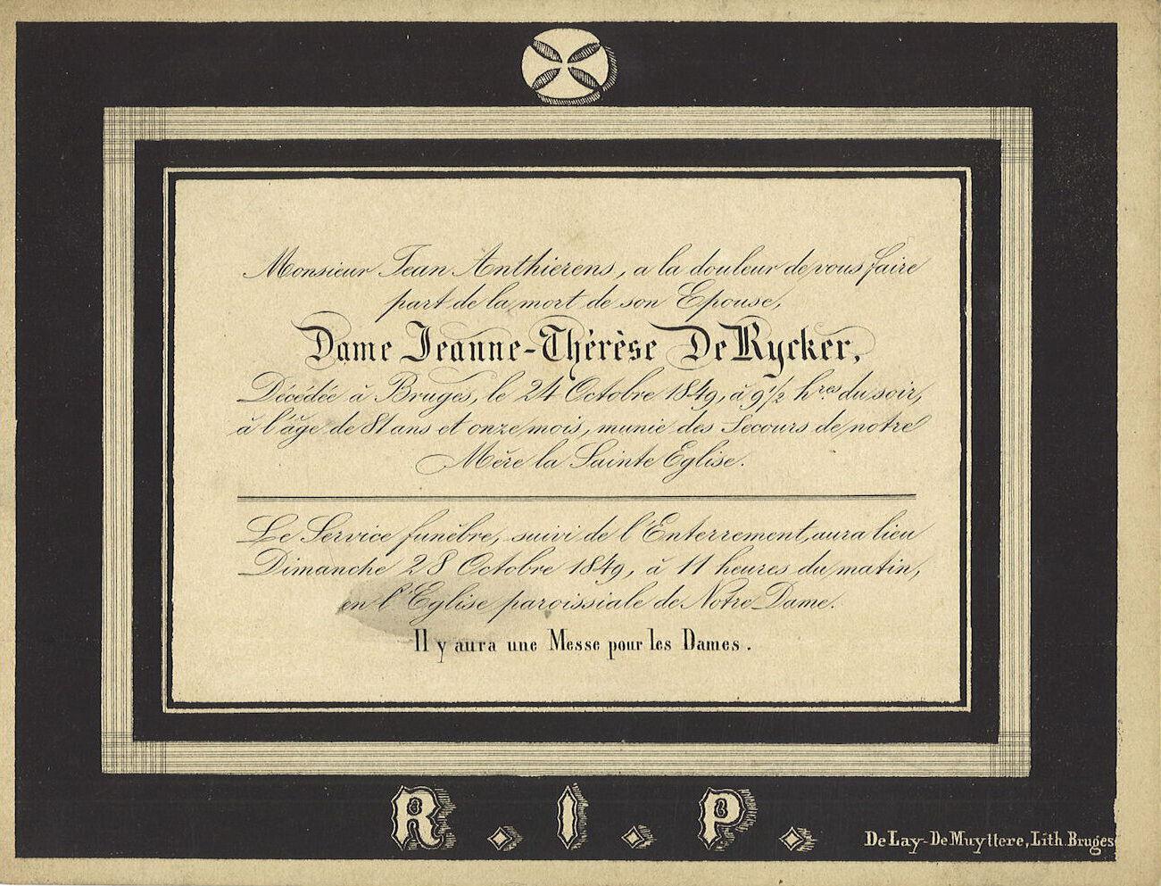 Jeanne-Thérèse De Rycker