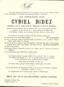 Cyriel Bidez