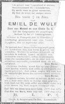 Emiel De Wulf