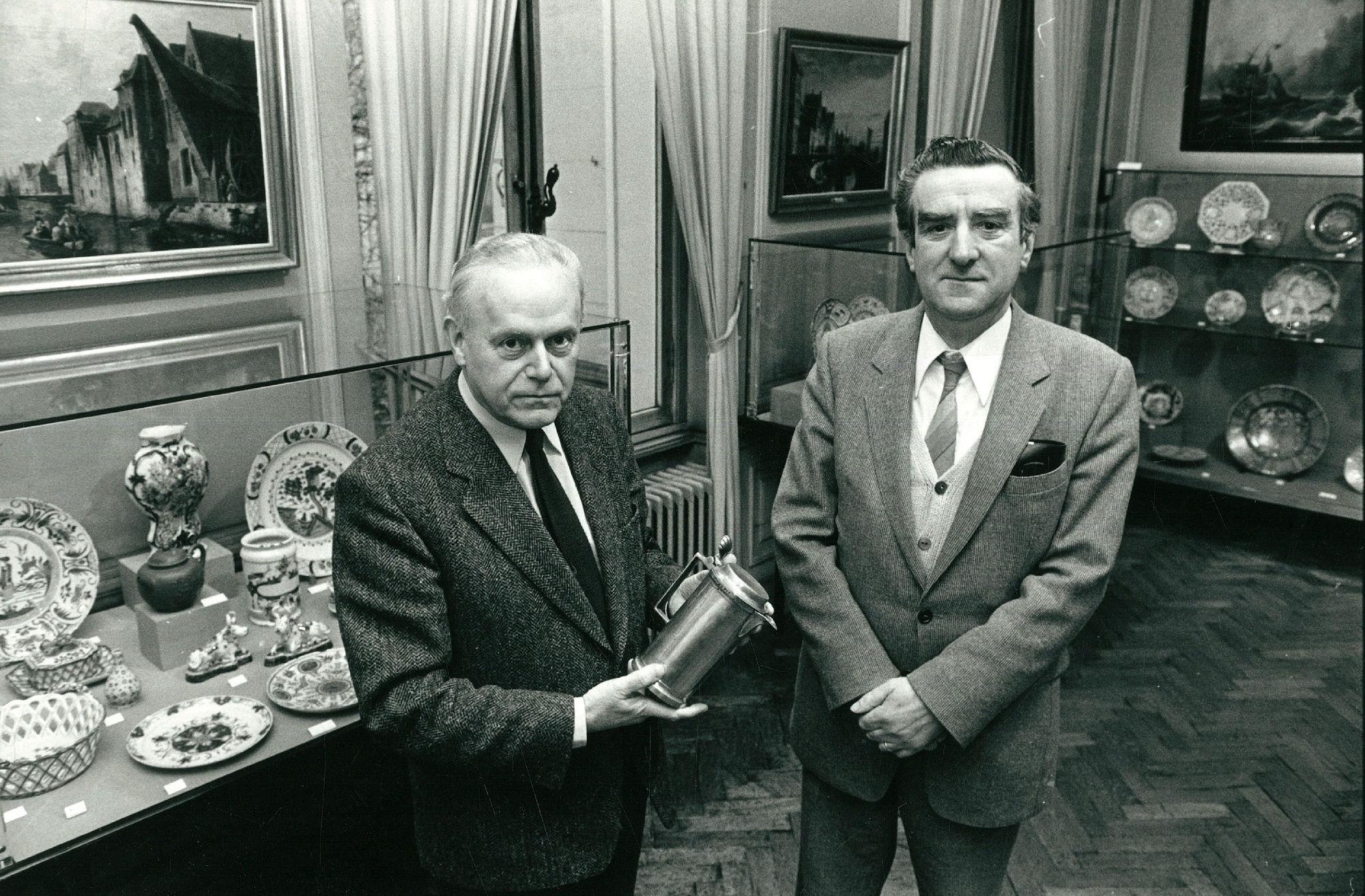Pauwels Aimé en Debrabandere Paul gewezen conservators van het museum