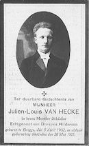 Julien-Louis Van Hecke.