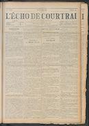 L'echo De Courtrai 1911-05-11