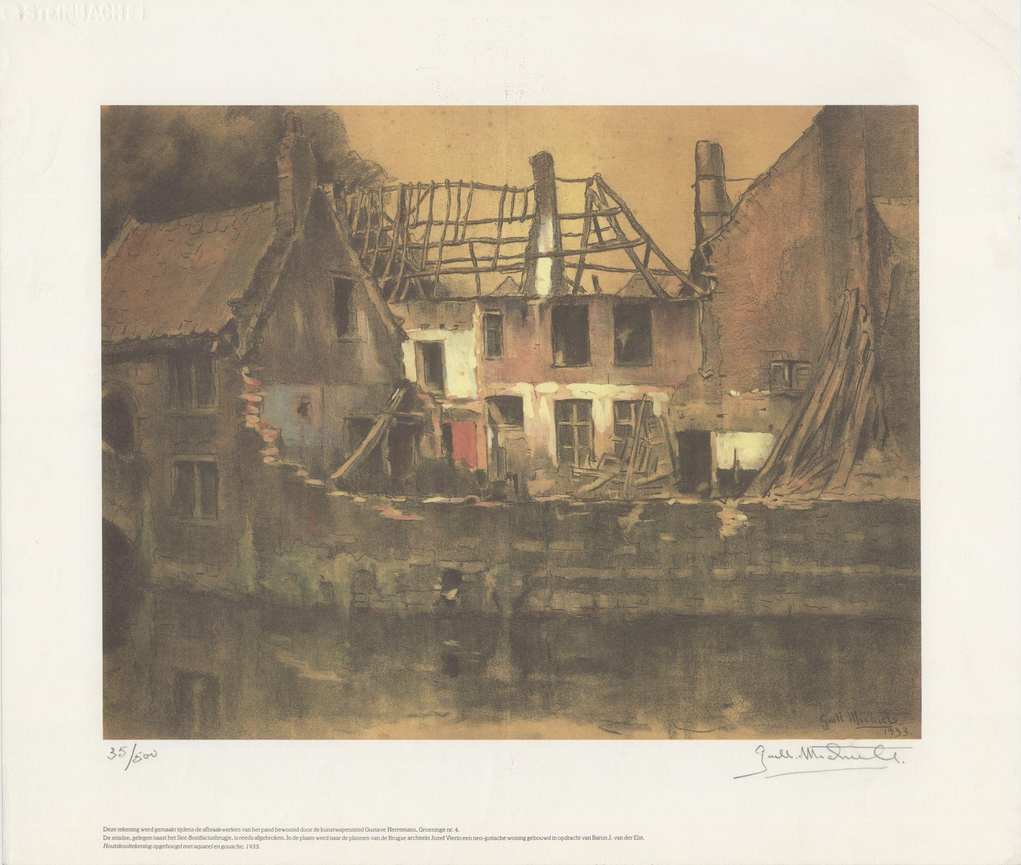 Westflandrica - Afbraak woning Gustave Herremans