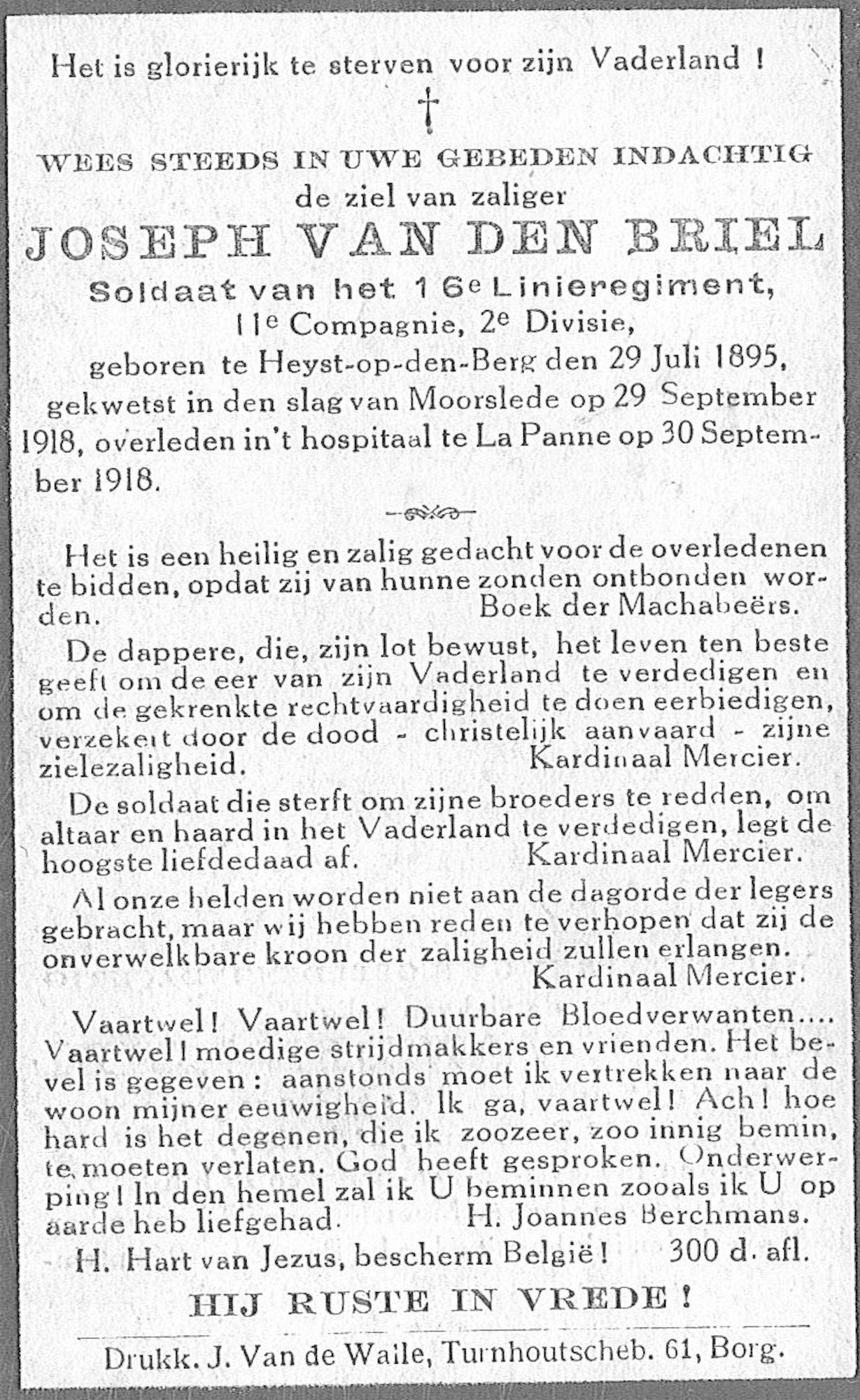 Joseph Van Den Briel