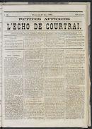 L'echo De Courtrai 1873-06-22 p1