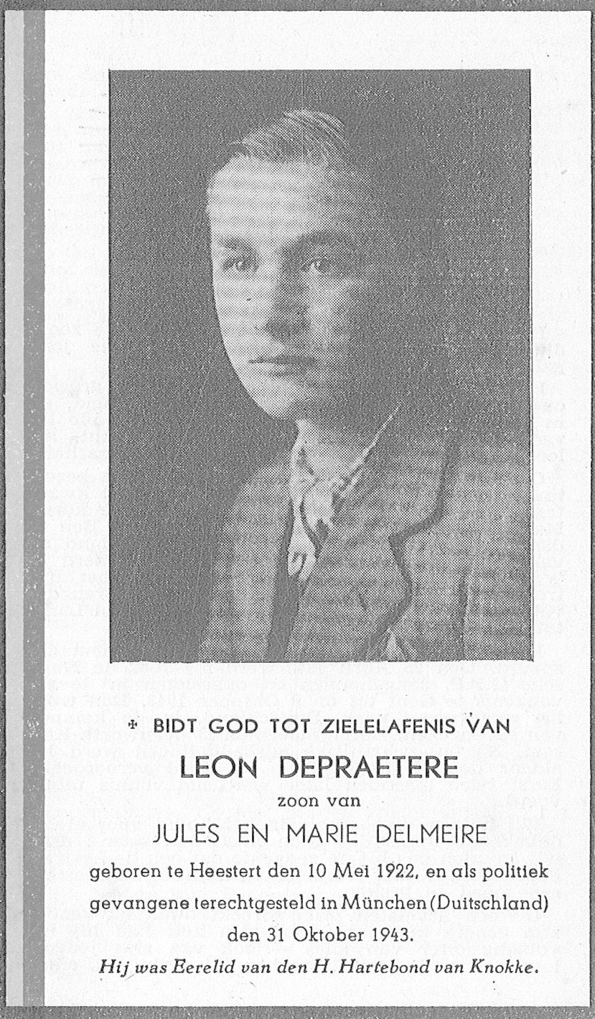 Depraetere Leon