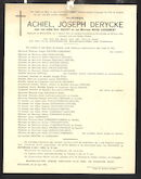 Achiel Joseph Derycke
