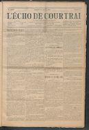 L'echo De Courtrai 1914-01-25