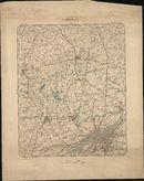 Topografische kaart van Kortrijk, 1897