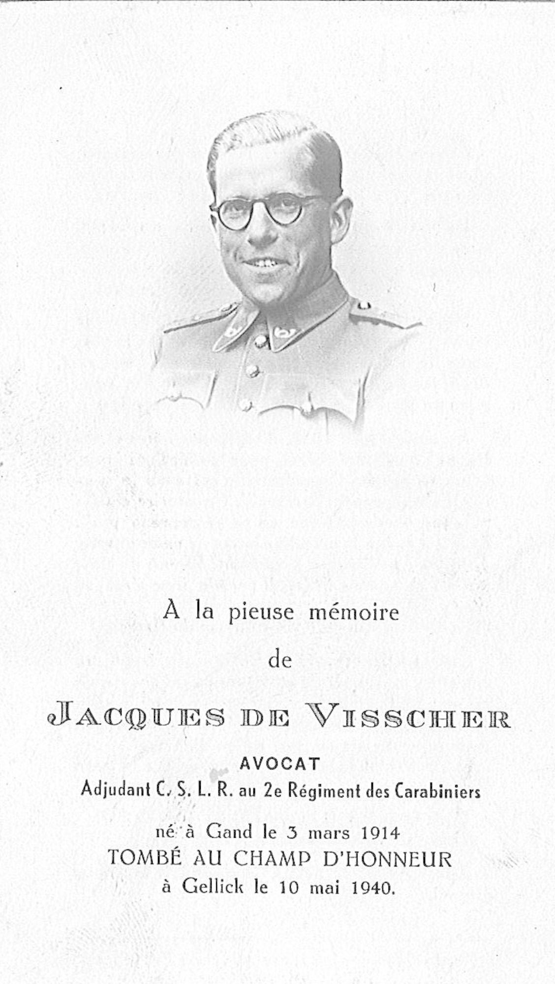 Jacques De Visscher