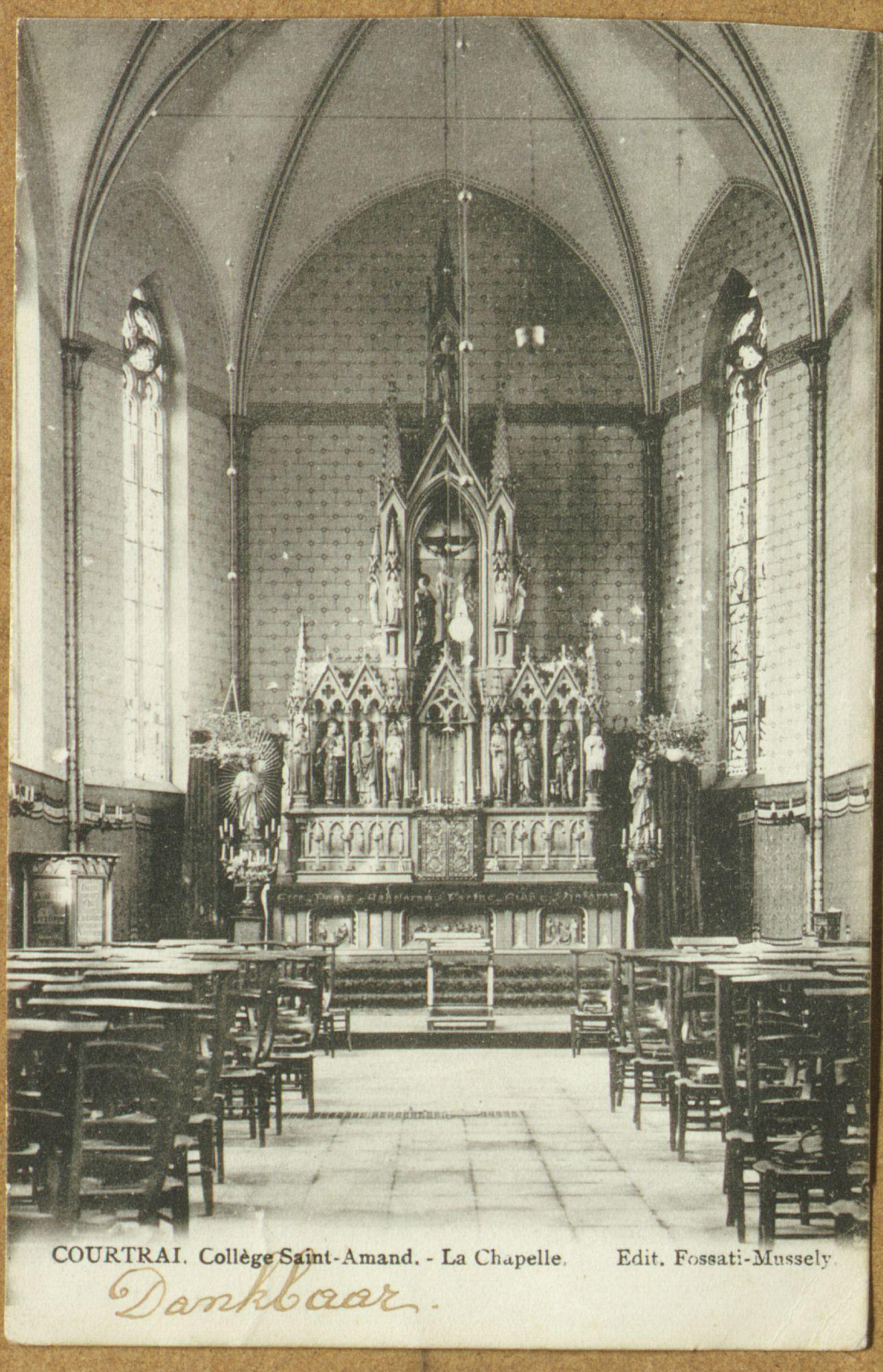 Kapel van het Sint-Amandscollege