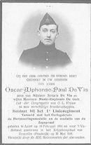 Oscar-Alphonse-Paul De Vis