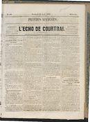 L'echo De Courtrai 1864-04-22