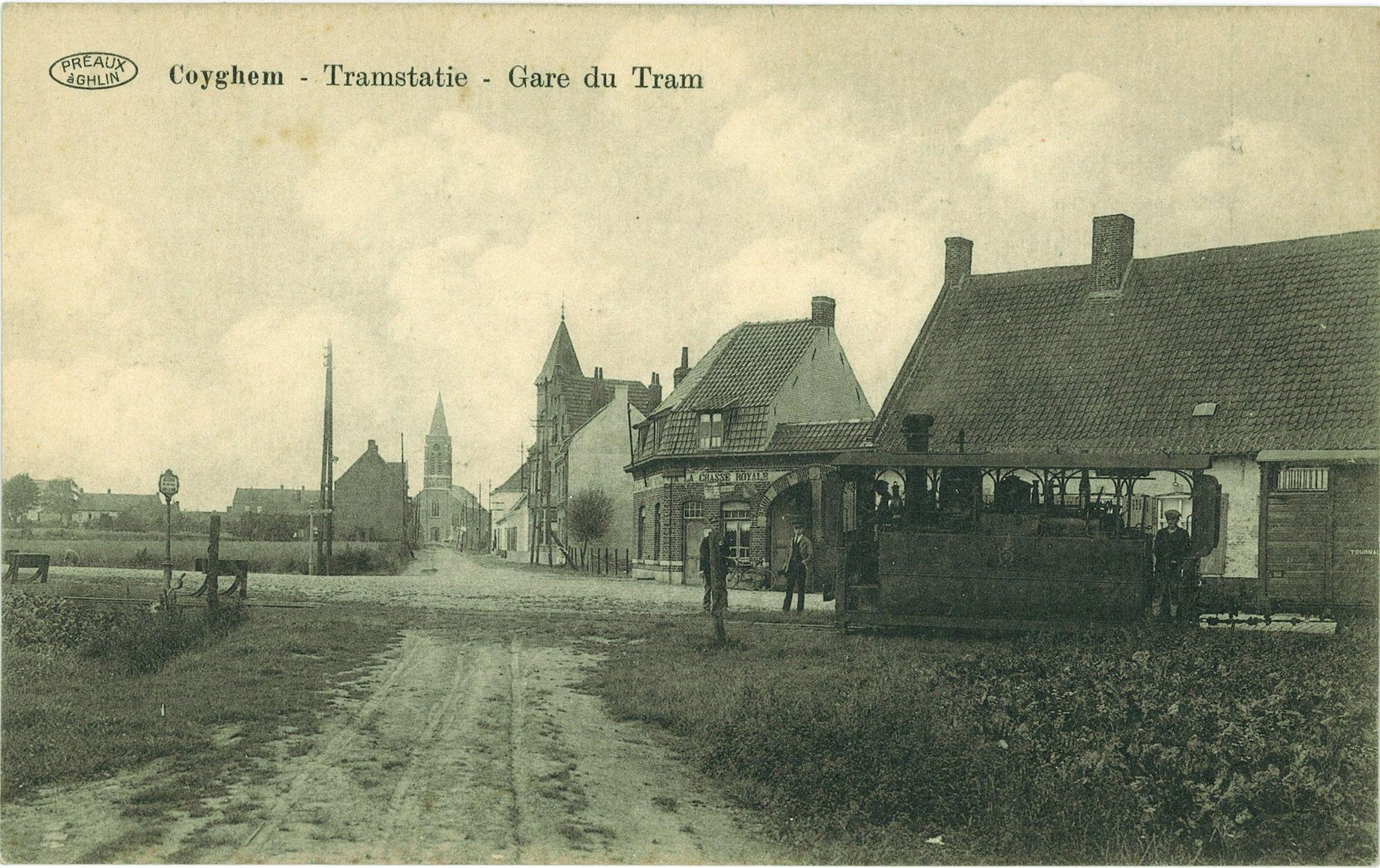 Tramstatie van Kooigem