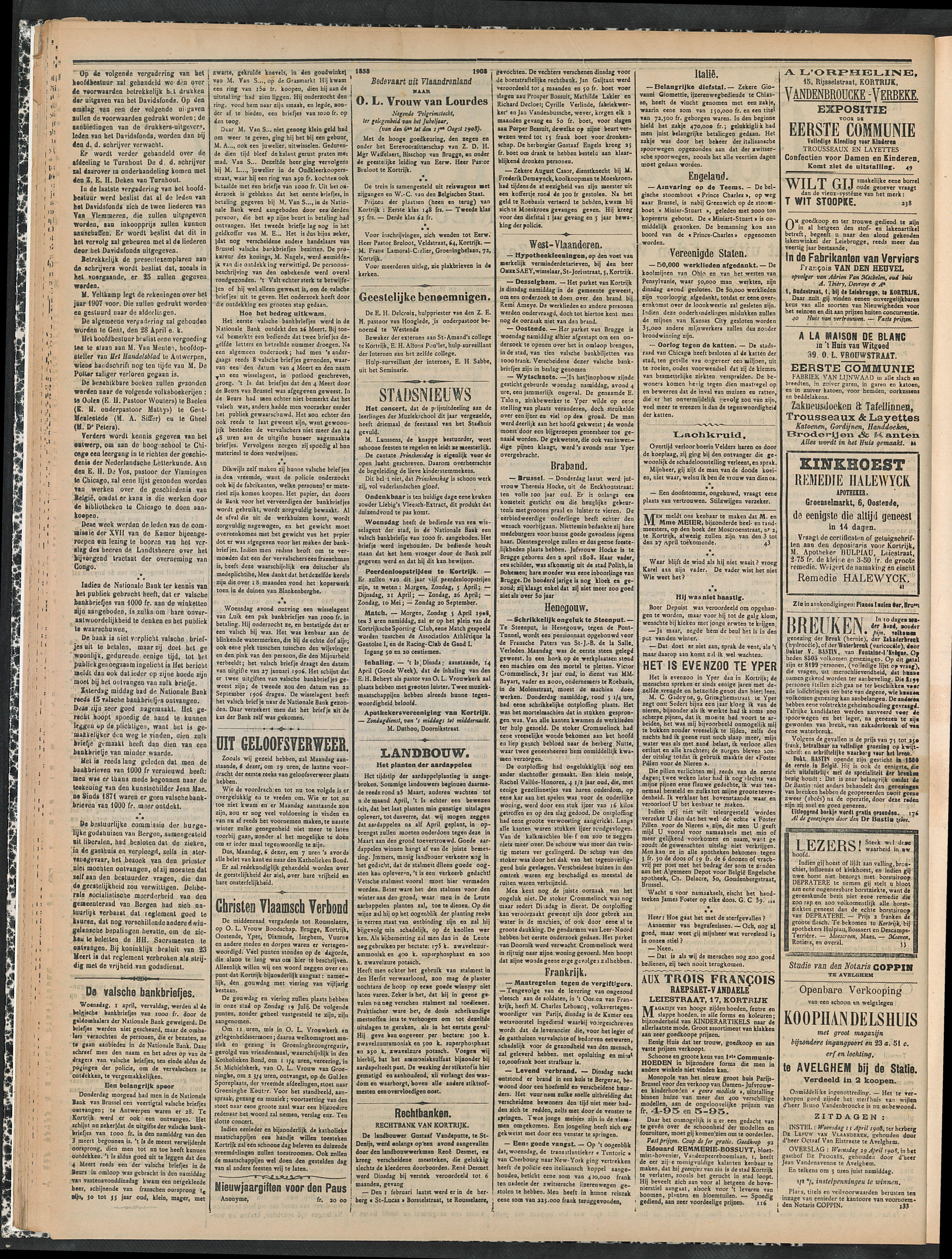 Gazette Van Kortrijk 1908-04-05 p2
