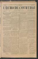 L'echo De Courtrai 1897-03-25