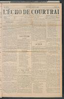 L'echo De Courtrai 1909-01-10
