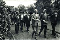 Ambassadeur van Marokko te gast bij NV Bekaert te Zwevegem 1987