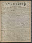 Gazette Van Kortrijk 1908-07-19