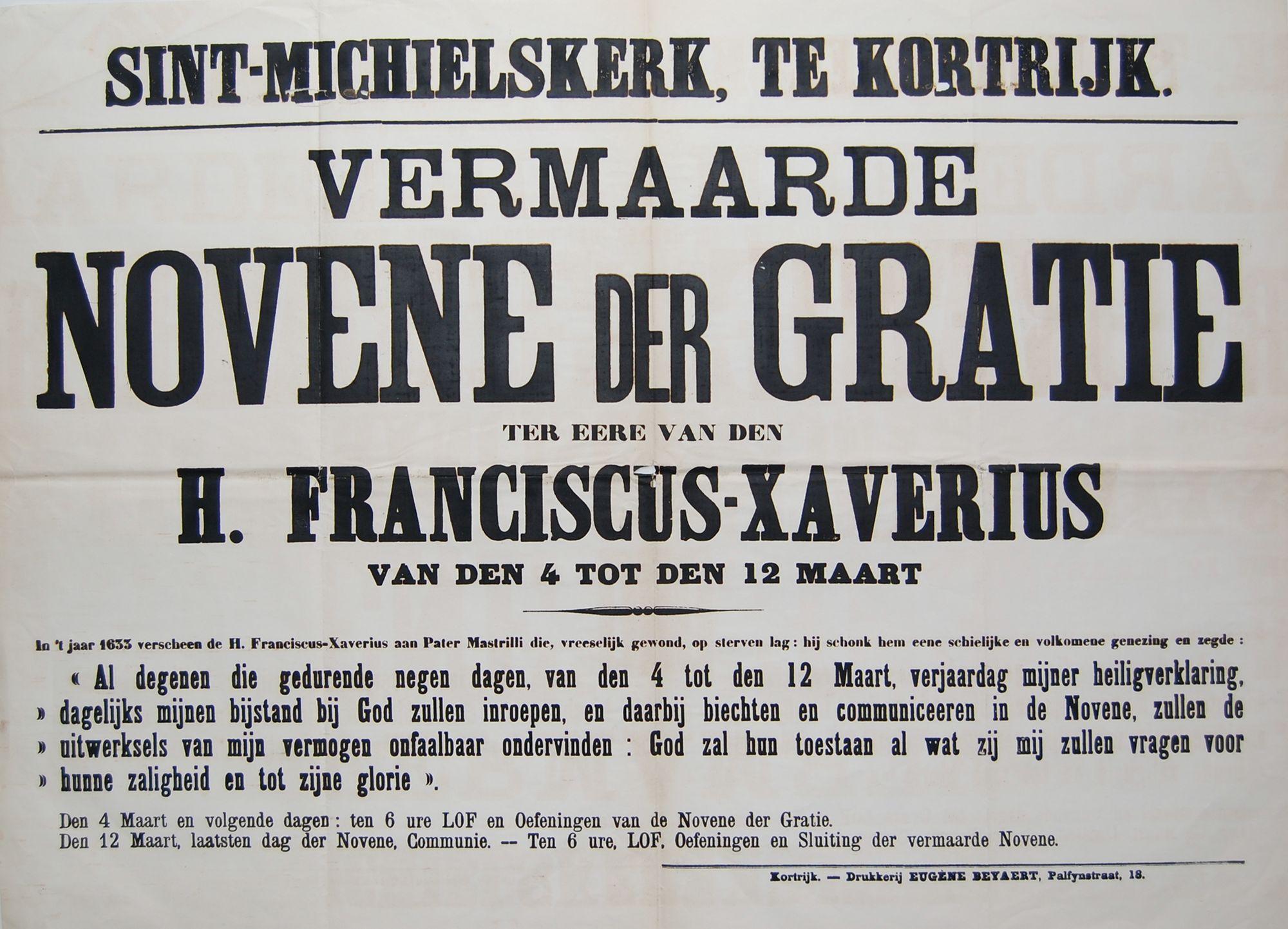 Noveen in Sint-Michielskerk