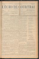 L'echo De Courtrai 1910-10-09