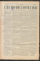 L'echo De Courtrai 1899-06-29