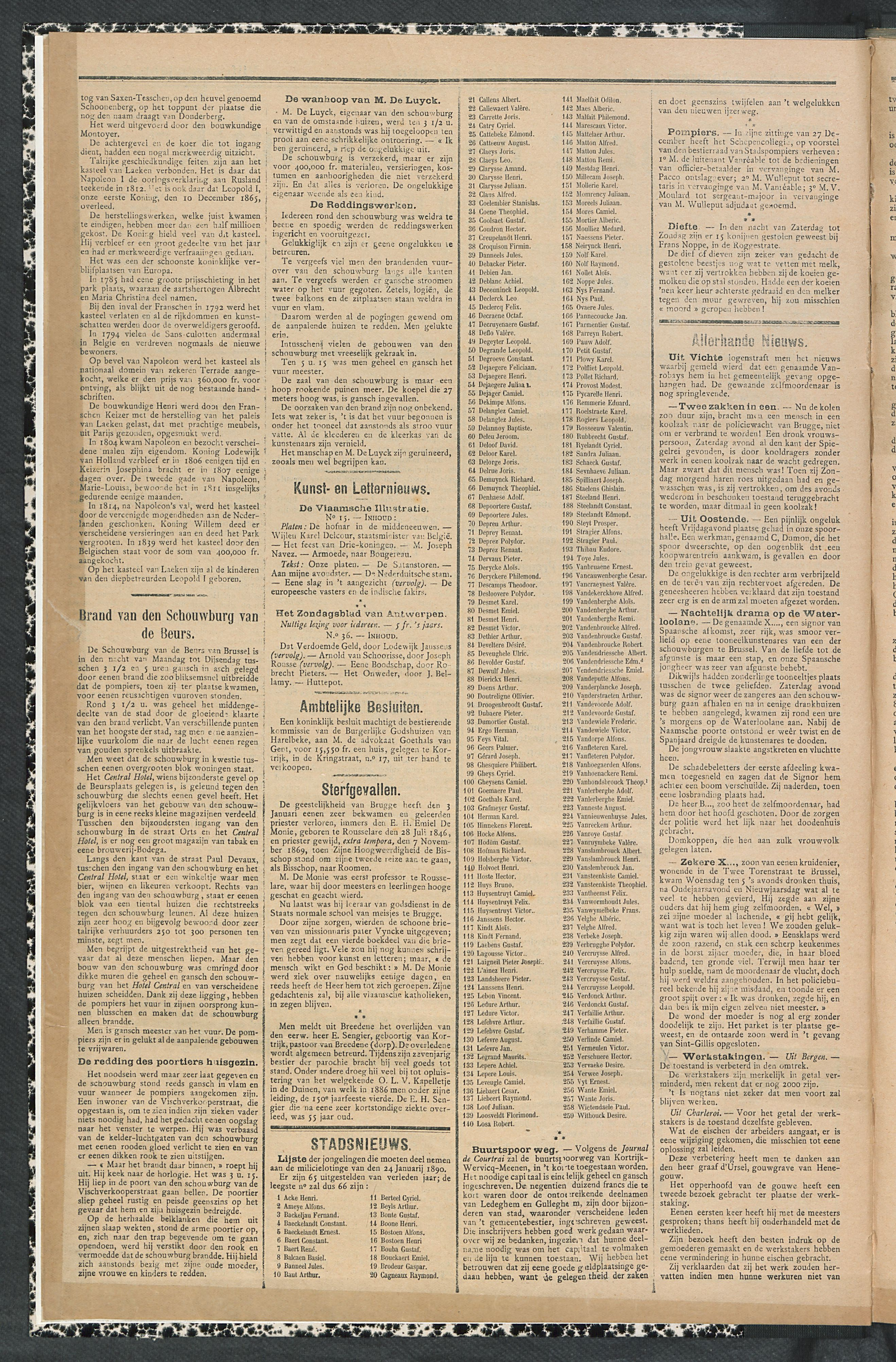Gazette Van Kortrijk 1890-01-09 p2
