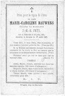Marie-Caroline Bauwens