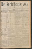 Het Kortrijksche Volk 1910-05-29 p1