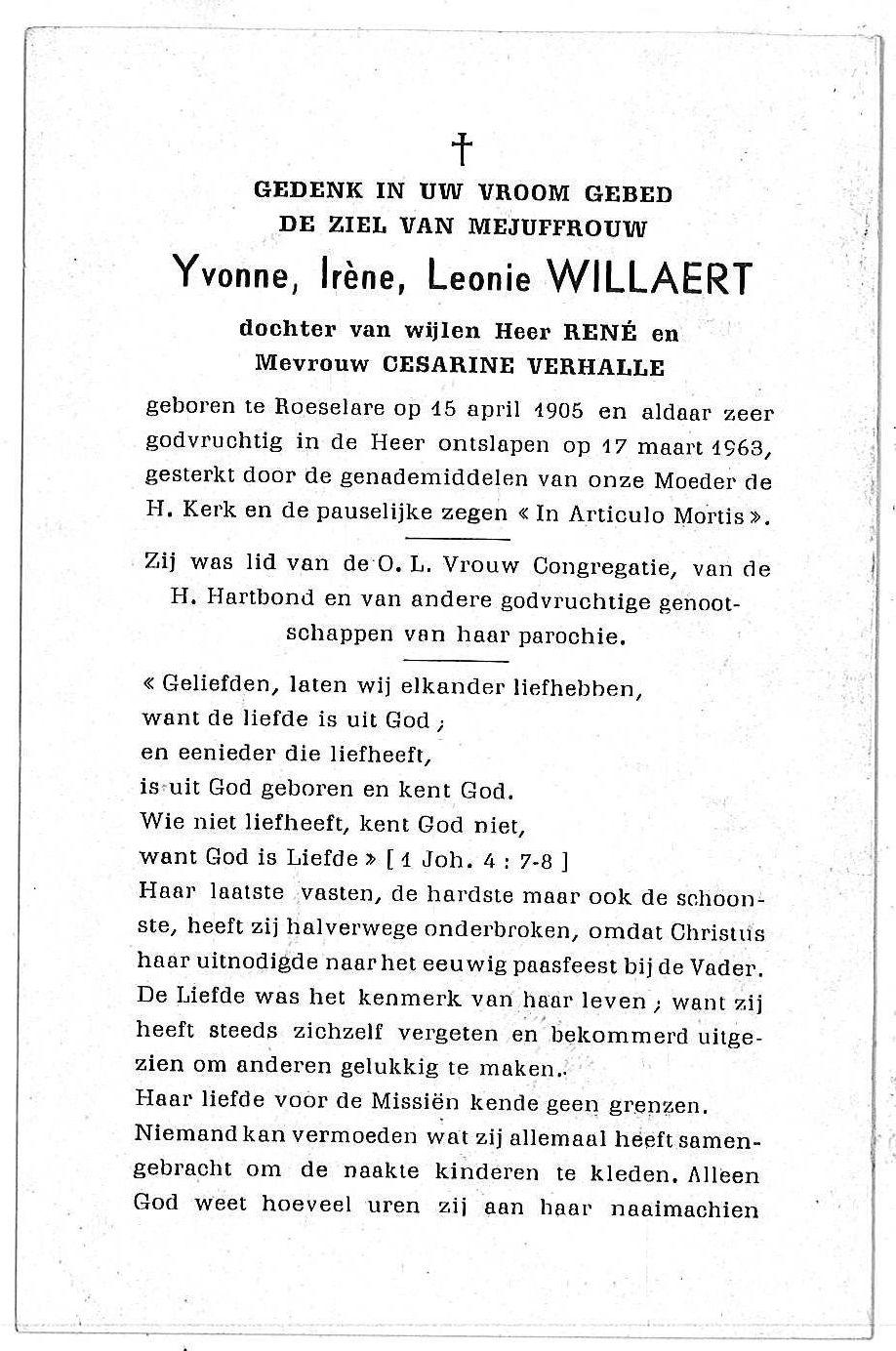 Yvonne-Irène-Leonie Willaert