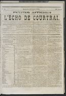 L'echo De Courtrai 1873-02-23 p1