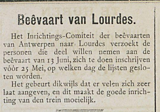 Beevaart van Lourdes