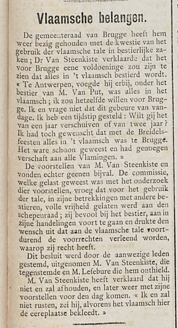 Vlaamsche belanyen