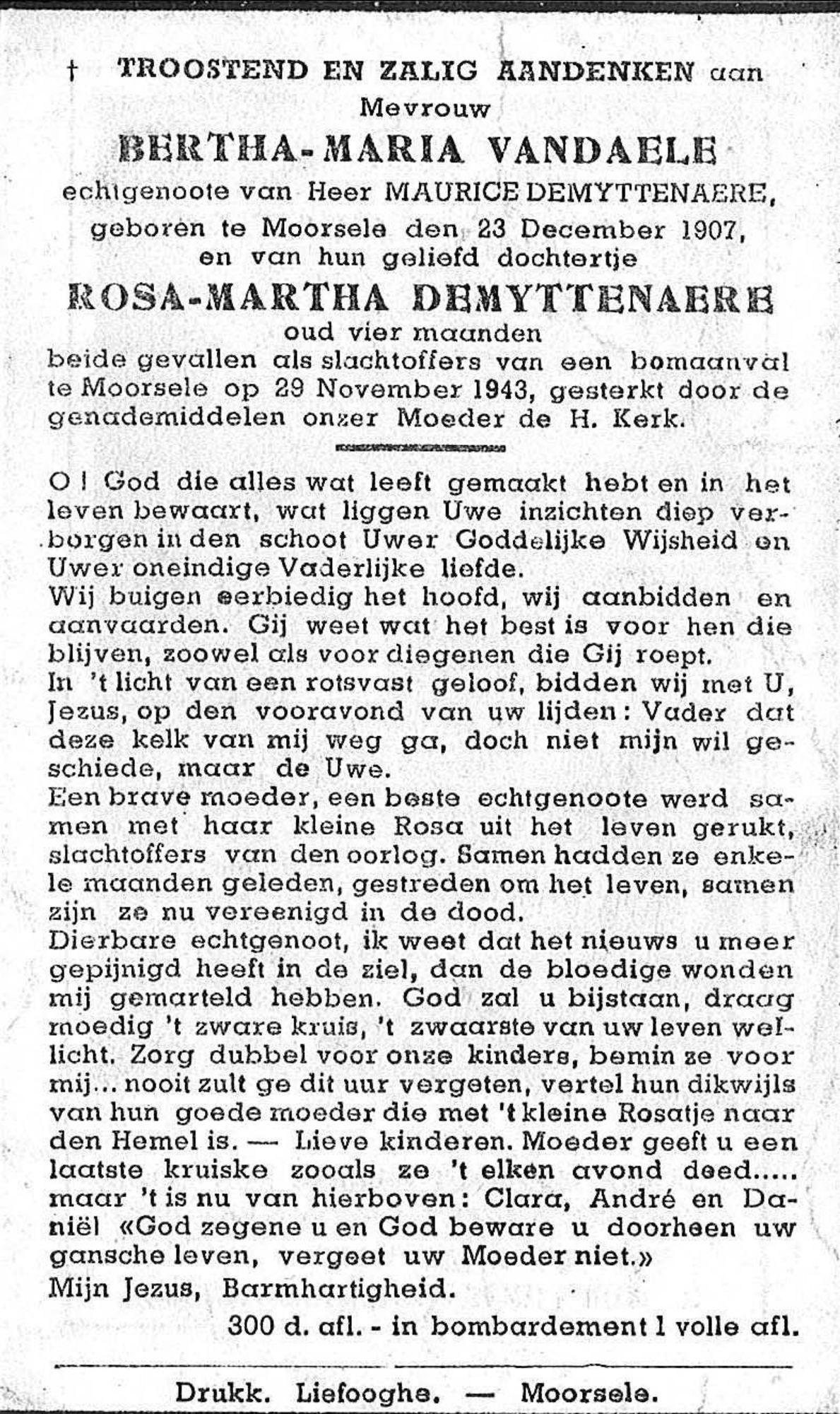 Bertha-Maria Vandaele