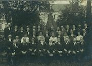 """Toneelvereniging """"'t Meibloempje"""" 1920"""