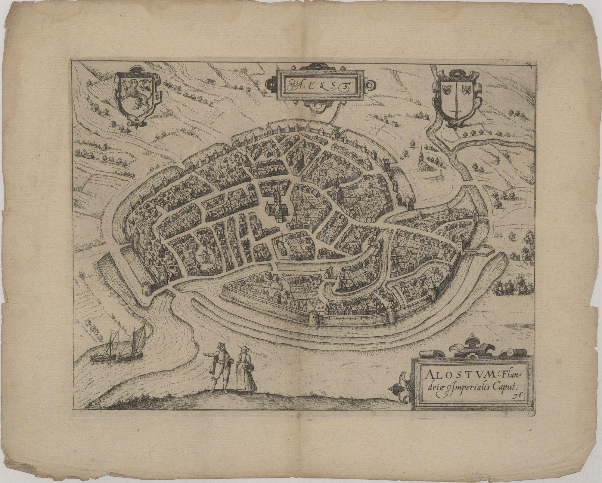 Westflandrica - Aalst, stadsplan