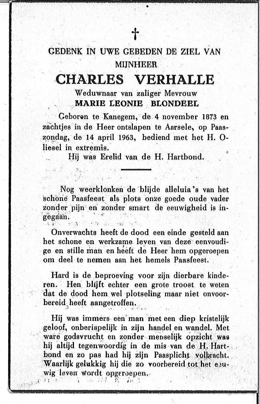 Charles Verhalle