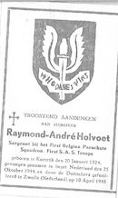 Raymond-André Holvoet