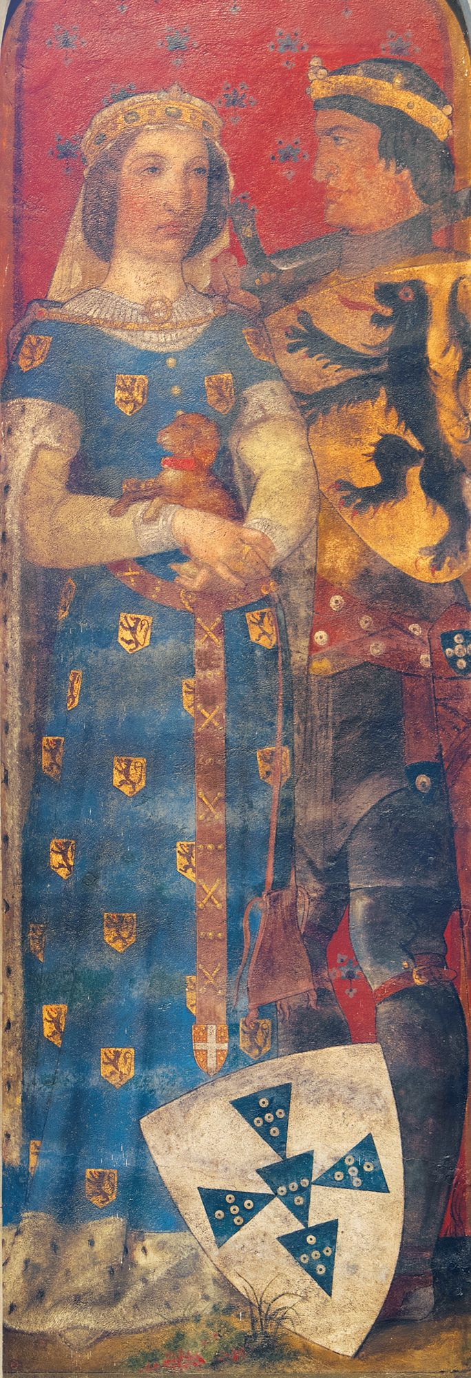 1205 - 1237 Johanna van Constantinopel en Ferrand van Portugal