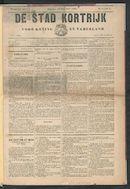 De Stad Kortrijk 1892-01-10 p1