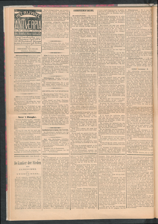 De Stad Kortrijk 1911-11-18 p2