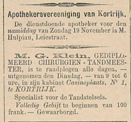 Apothekersvereeniging van Kortrijk